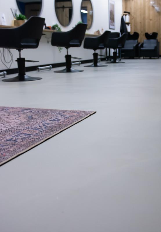 Kapsalon vloer design
