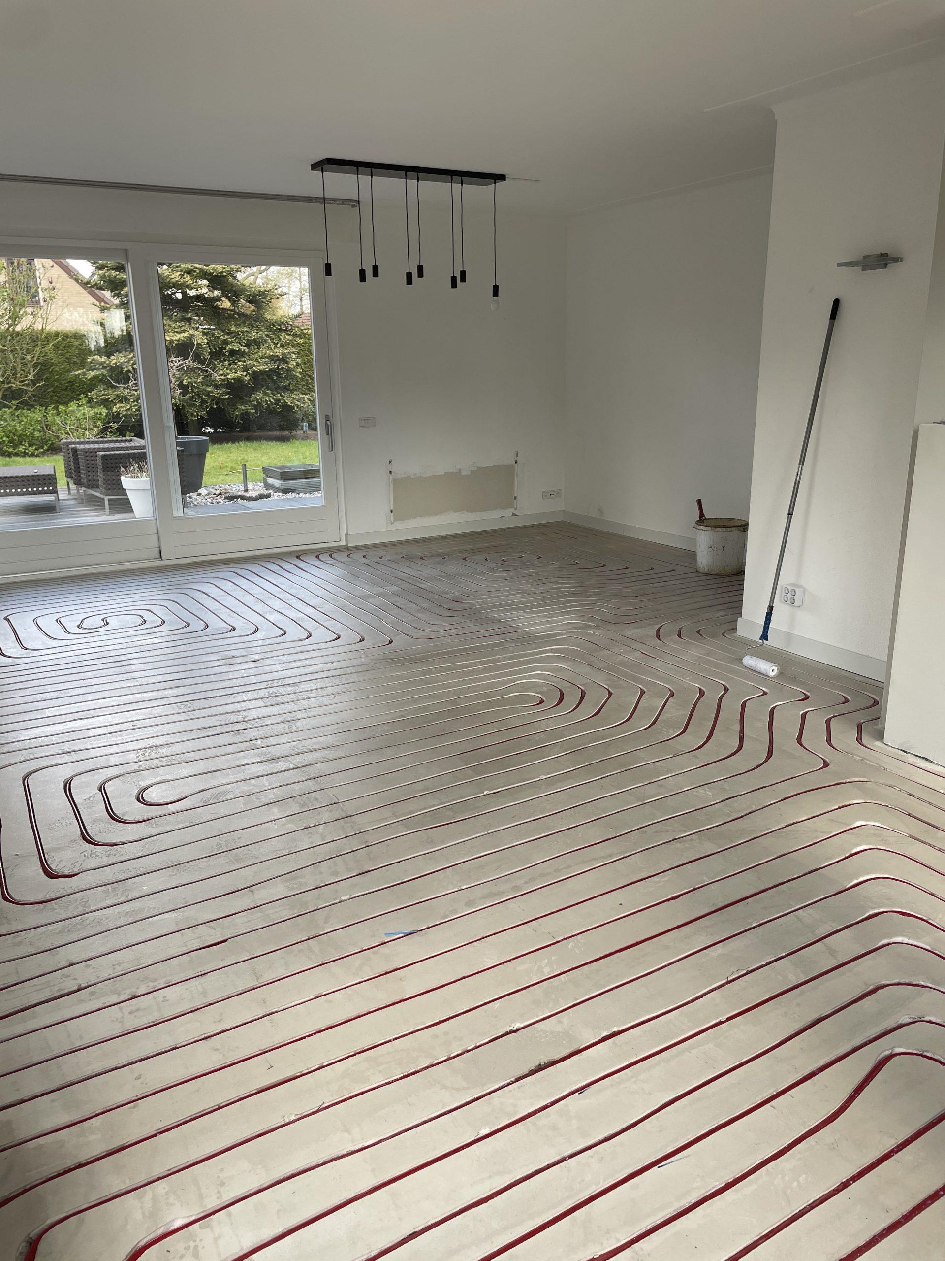 PVC Visgraat & vloerverwarming Beuningen